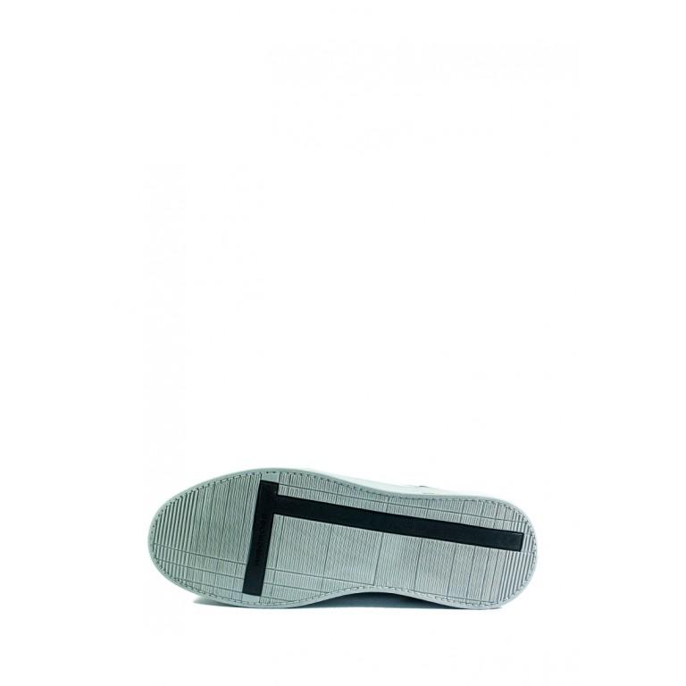 Кеды мужские MIDA 111304-114 бело-черные
