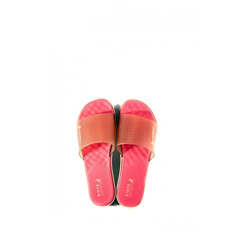Шлепанцы женские Rider 82741-24943 бежево-розовые