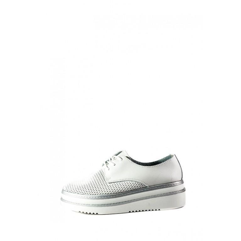 Кеды летние женские Allshoes AK767-1-1 белые