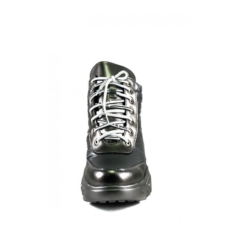 Ботинки зимние женские Lonza WG-X-880 серые