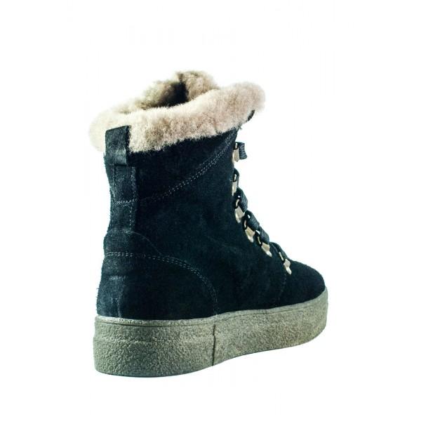 Ботинки зимние женские MIDA 24877-249Ш черные