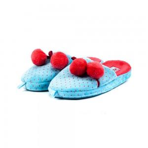 Тапочки комнатные детские Home Story 81750-AC голубые