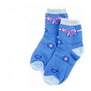 Носки детские Алия С2012-1 синие 28-32