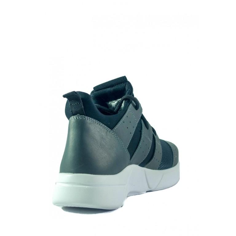 Кроссовки подростковые MIDA 31368-28 черно-серые