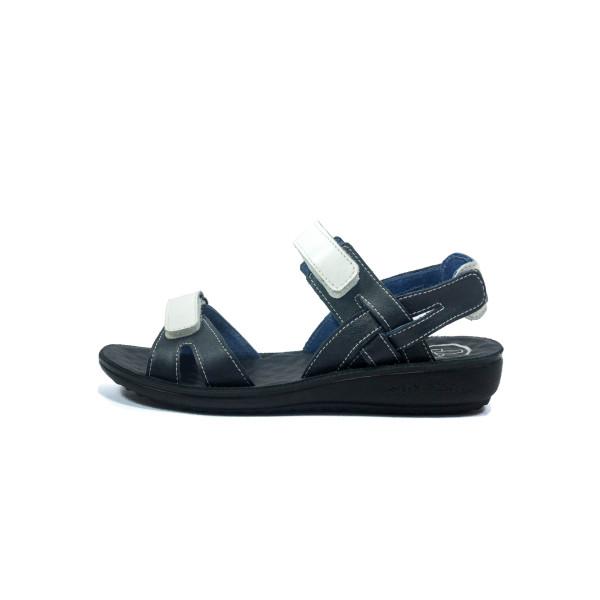 Сандалии женские TiBet 495-02-08 бело-синие