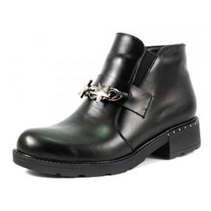 Ботинки демисезон женские SND SDAZ-J13 черная кожа