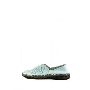 Мокасины женские Allshoes 19111-5K голубые