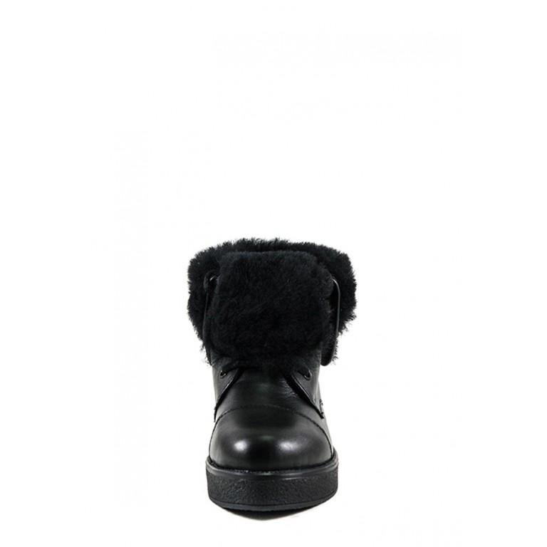 Ботинки зимние женские MIDA 24594-1Ш черные