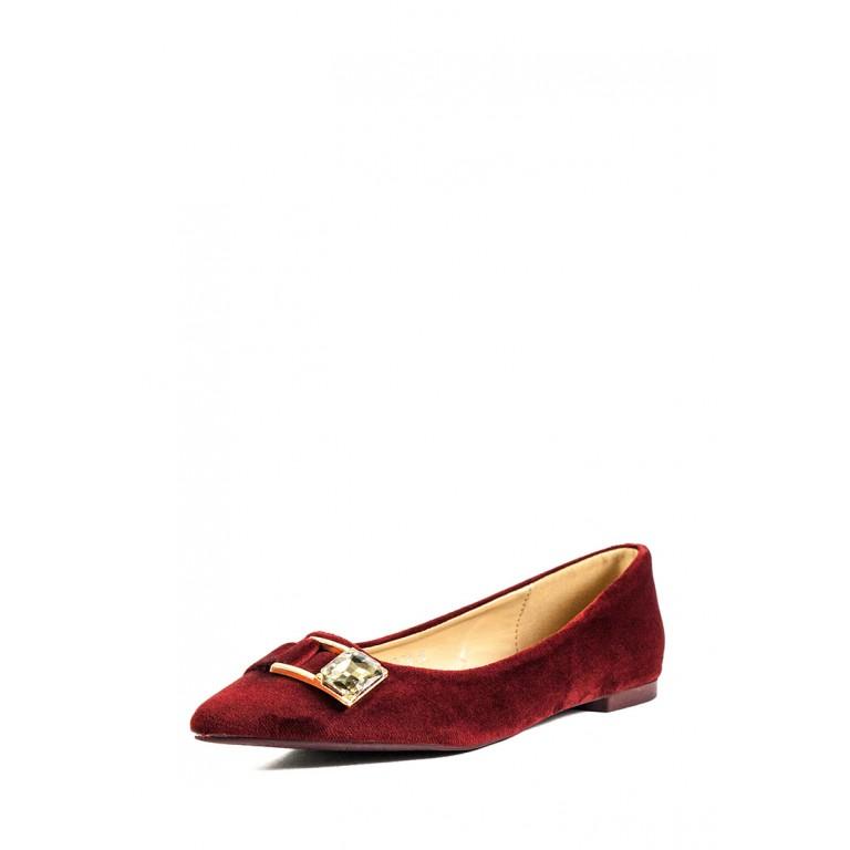Балетки женские Prima D'arte HR-6Y113-F8 красный