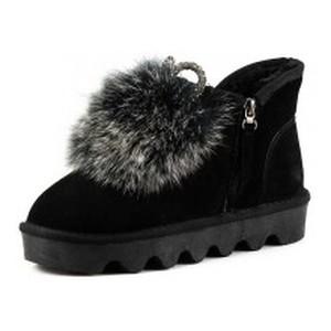 [:ru]Ботинки зимние женские Sopra L2008 черная замша[:uk]Черевики зимові жіночі Sopra чорний 13000[:]