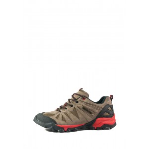 Кроссовки мужские Restime UMO18521 коричневая замша