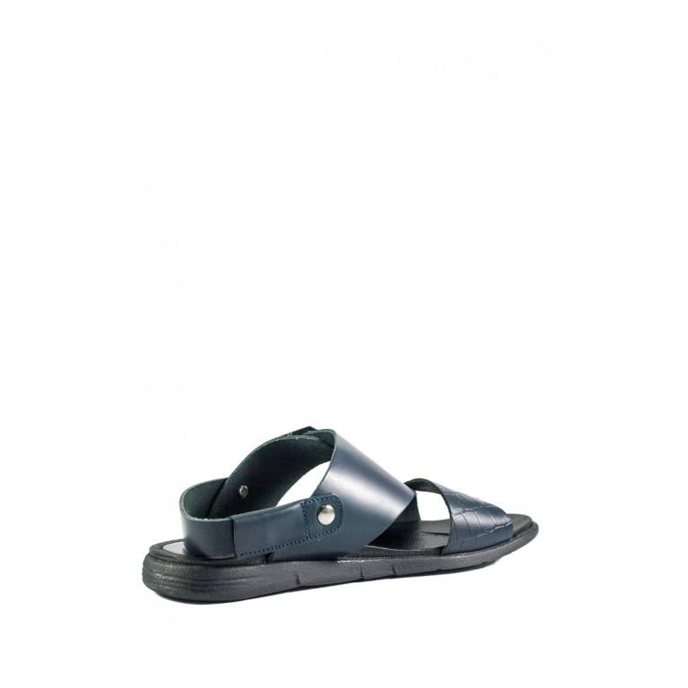 Сандали мужские MIDA 13500-547 темно-синяя кожа