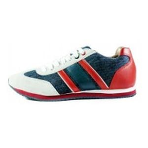 Кроссовки мужские Demax A2567-1 красно-синие