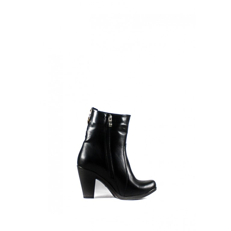 Ботинки зимние женские Vakardi V355-1 черная кожа