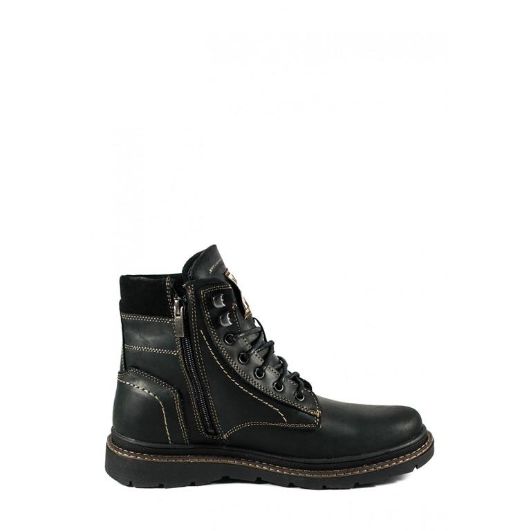 Ботинки зимние мужские Nivas СФ Niv N3 Ч черный нубук