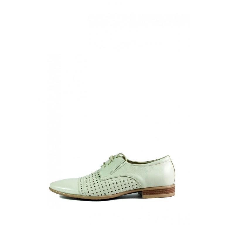 Туфли мужские MIDA 13072-14 белые