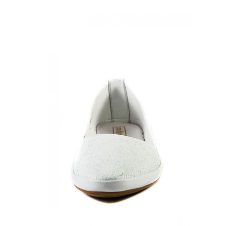 Балетки женские летние SND 12688-1 белый