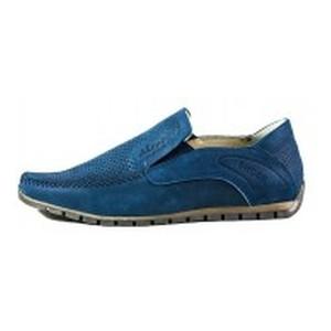 Мокасины мужские Nivas СФ Niv V17 синий нубук