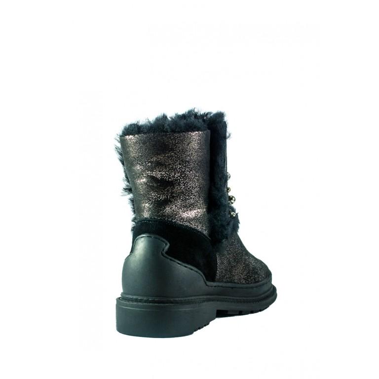 Ботинки зимние женские Allshoes СФ 605-PX382M-63-3 черные