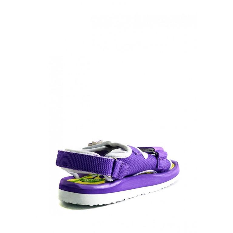 Сандалии детские Bitis BGS-15942 фиолетовые
