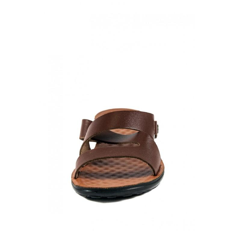 Шлепанцы женские TiBet 234-1 коричневые