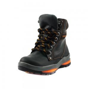 Ботинки детские MIDA 44034-28Ш черная кожа