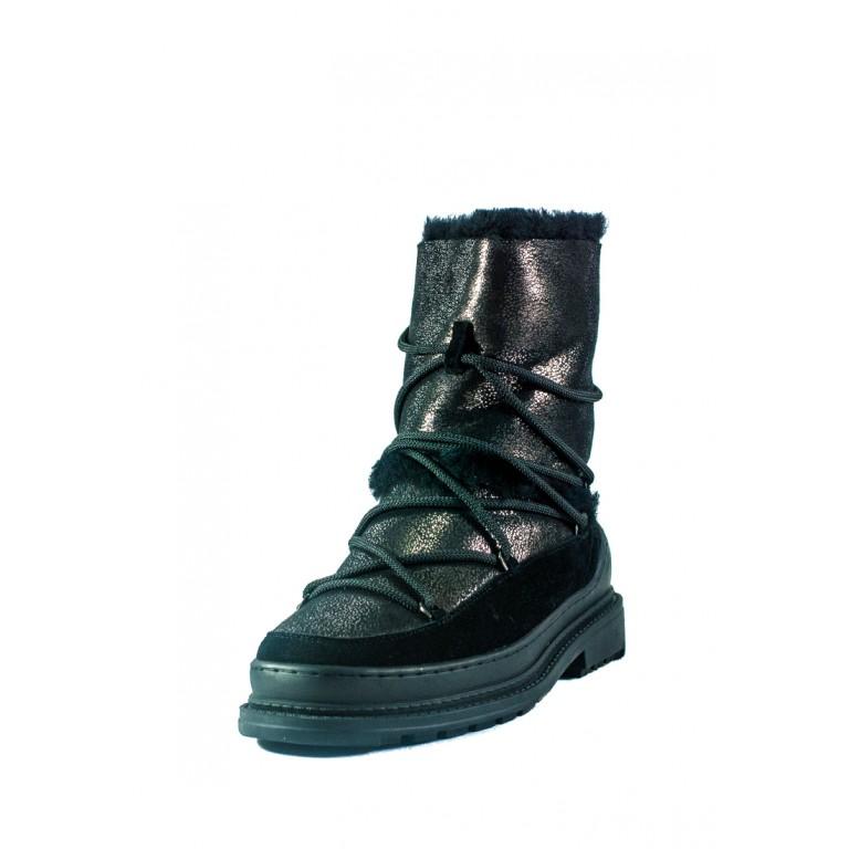 Ботинки зимние женские Allshoes СФ 605-PX382M-72-1 черные