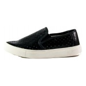 Мокасины женские Allshoes 298 черная кожа