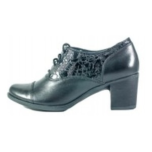 Ботинки демисезон женские MIDA 21561-183 черные