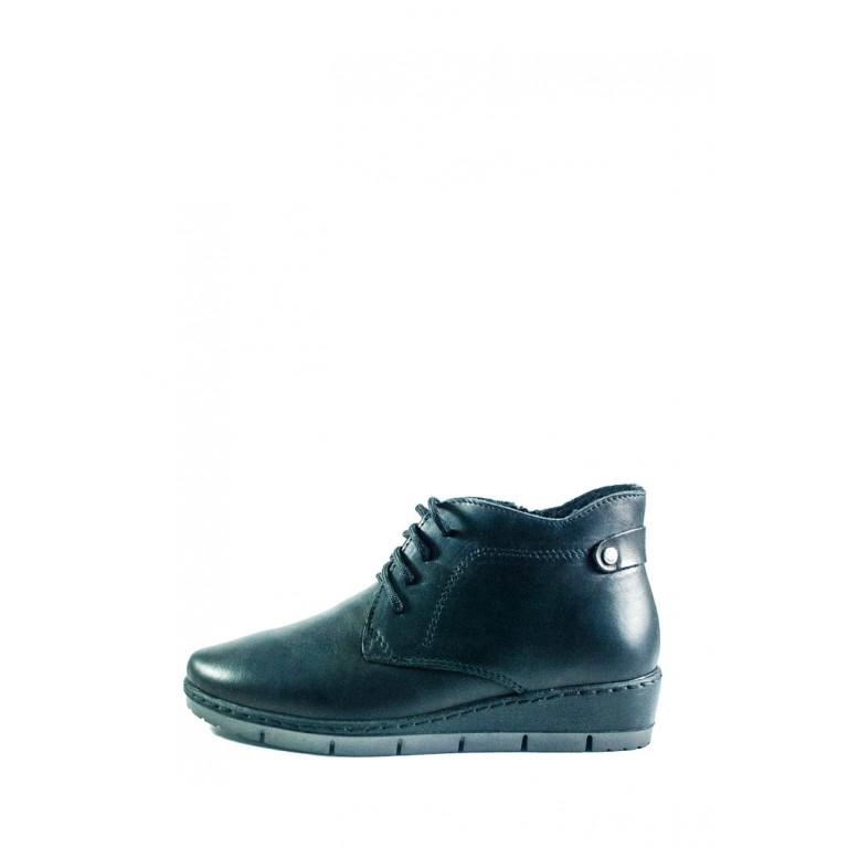 Ботинки демисез женск Inblu TD-6D черные