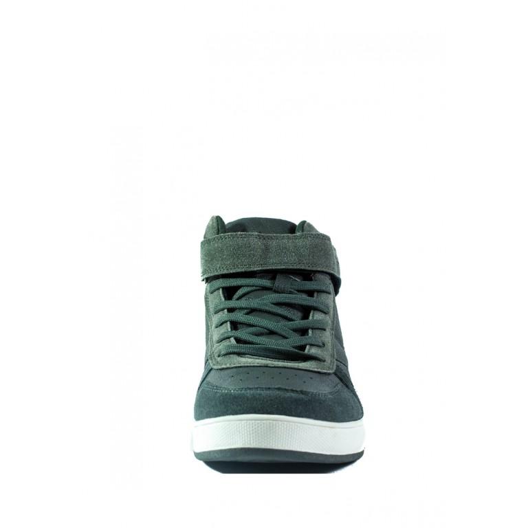 Ботинки зимние мужские Bona 124-6L серые