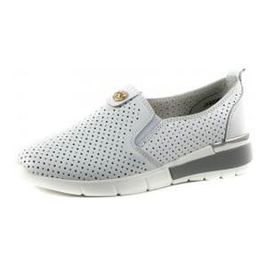 Мокасины женские Allshoes JA90067-5 белые