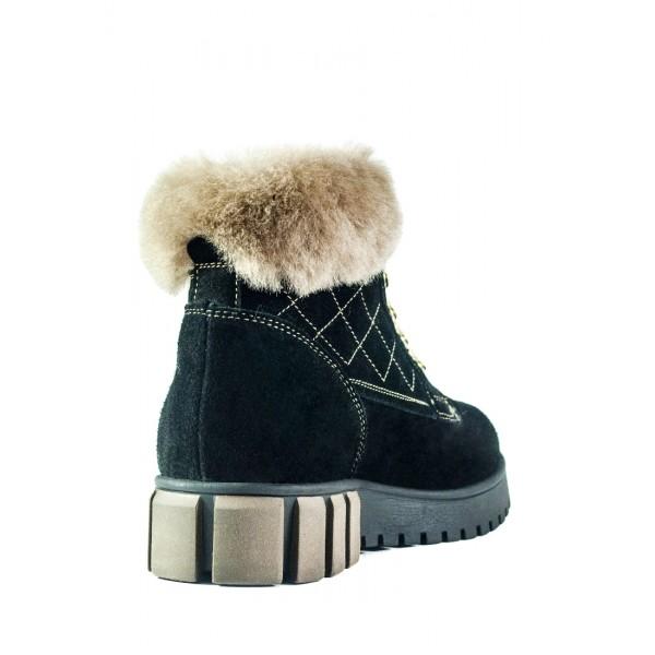 Ботинки зимние женские MIDA 24787-249Ш черные