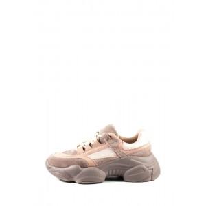 Кроссовки демисезон женские Allshoes 119-18106-6 розовые