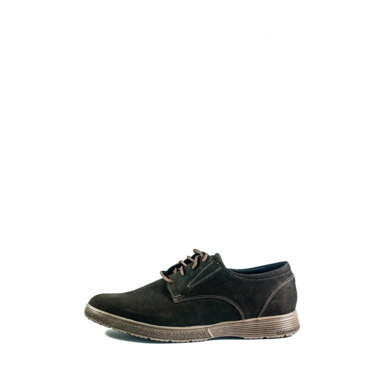 Туфли мужские MIDA 111320-82 коричневые