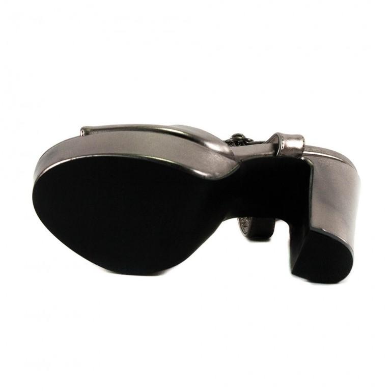 Босоножки женские Sopra ZD139-49 светло-серебрянный