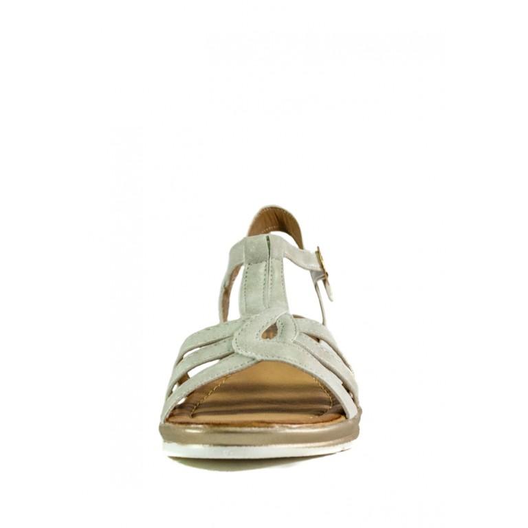 Сандалии женские Sopra СФ M11102 белые