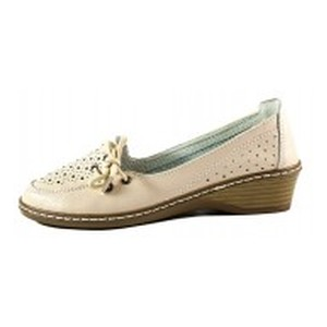 [:ru]Туфли женские Allshoes 77299 бежевая кожа[:uk]Туфлі жіночі Allshoes бежевий 15572[:]