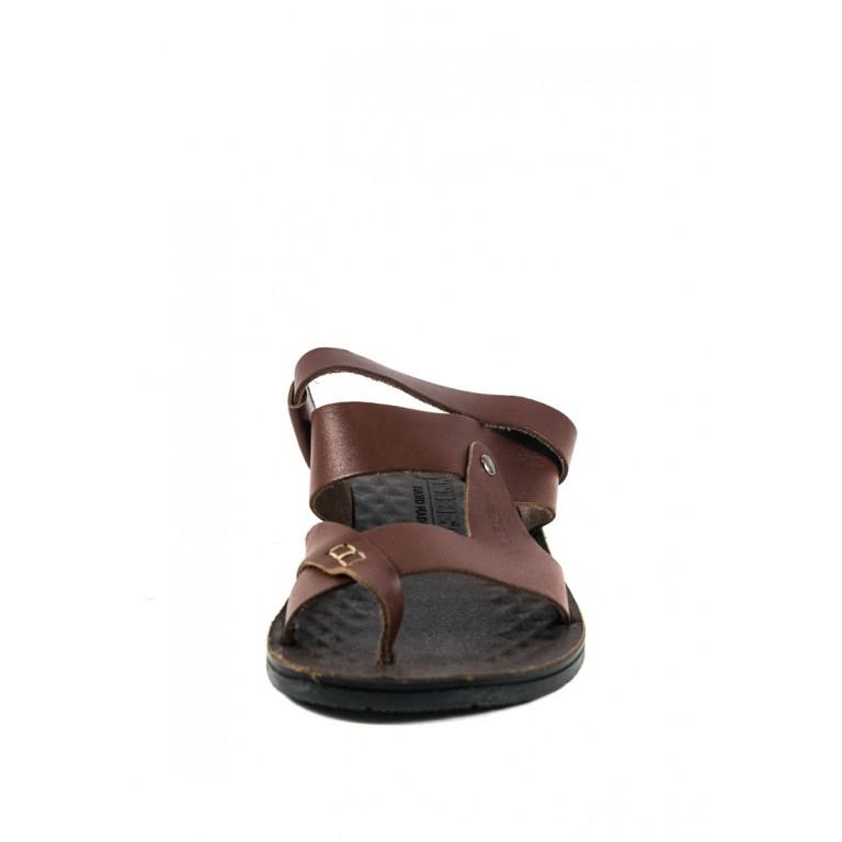 Сандалии мужские TiBet 41 коричневые