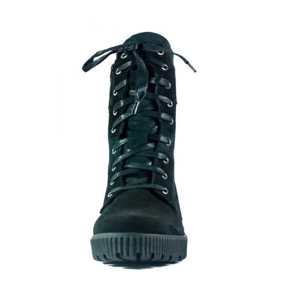 Сапоги зимние женские MIDA 24674-9Ш черные