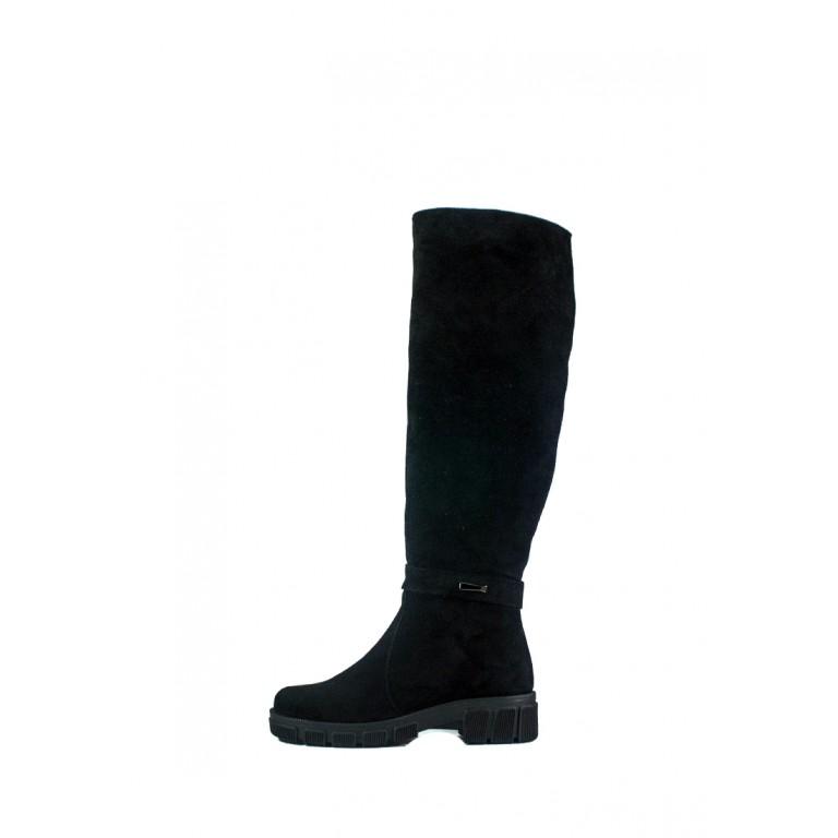 Сапоги зимние женские Lonza SD 115 чз черные