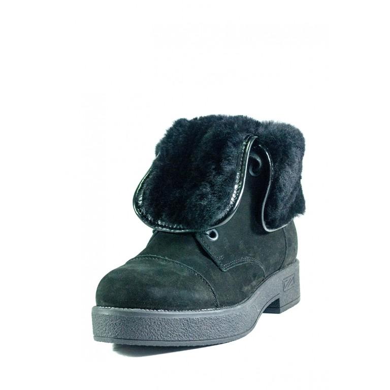 Ботинки зимние женские MIDA 24701-9Ш черные