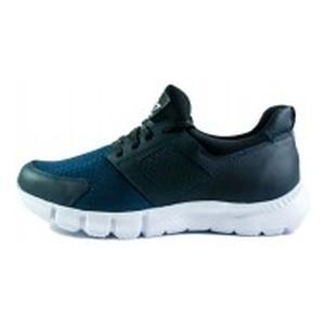 Кроссовки мужские MIDA 111439-4 черно-синие
