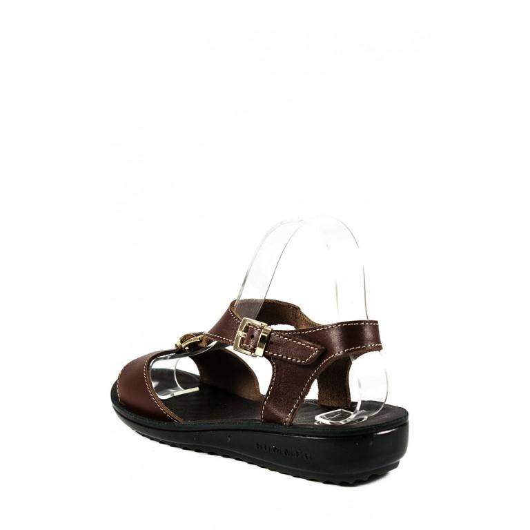 Сандалии женские TiBet 92 темно-коричневые