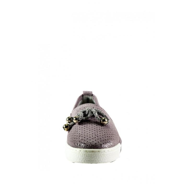 Мокасины женские Allshoes 18683-2K-1 розовые