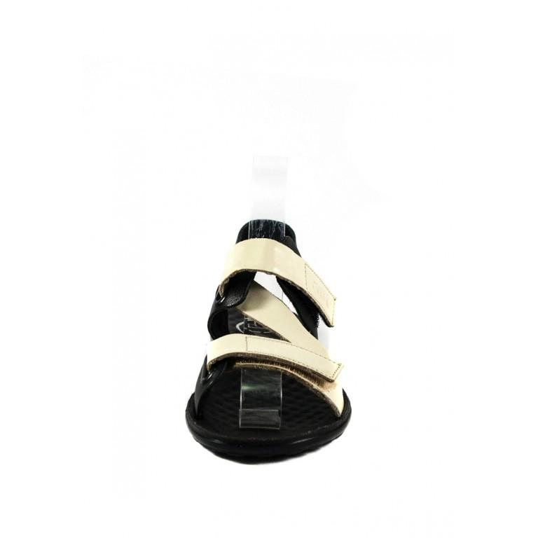 Сандалии женские TiBet 236 кремово-черные