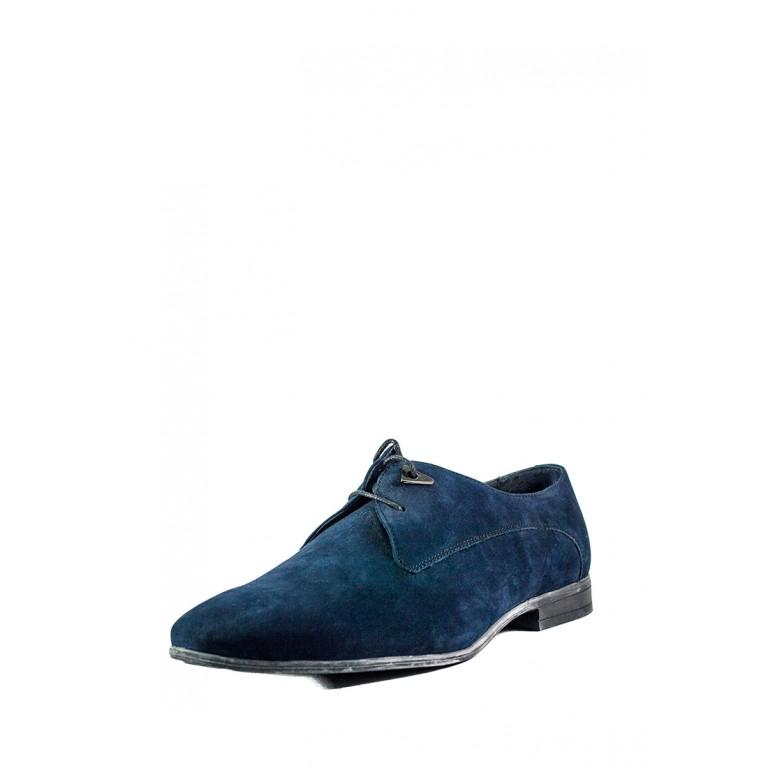 Туфли мужские MIDA 11229-12 синий нубук