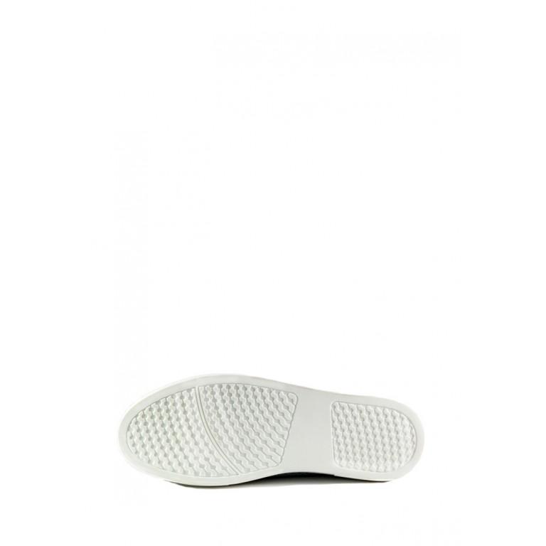 Мокасины женские Allshoes 18688-1K серебряные