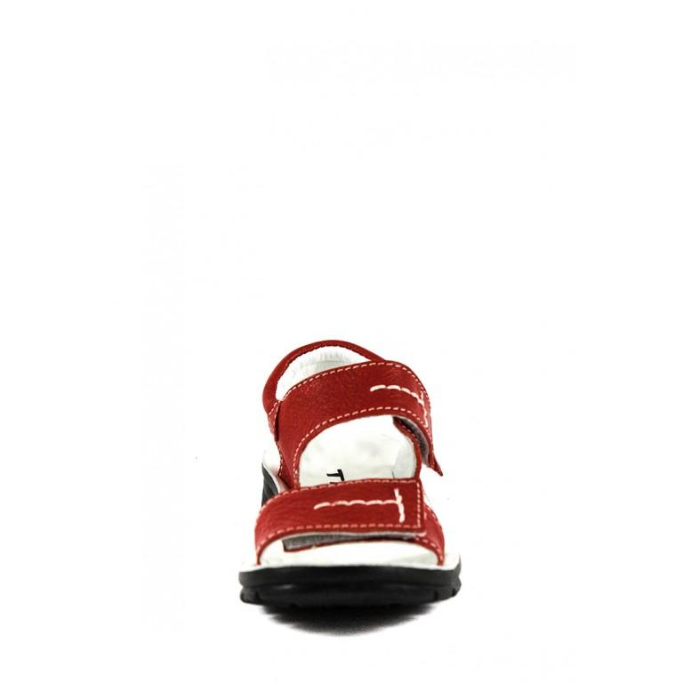 Сандалии для девочек TiBet 008-02-10 красные