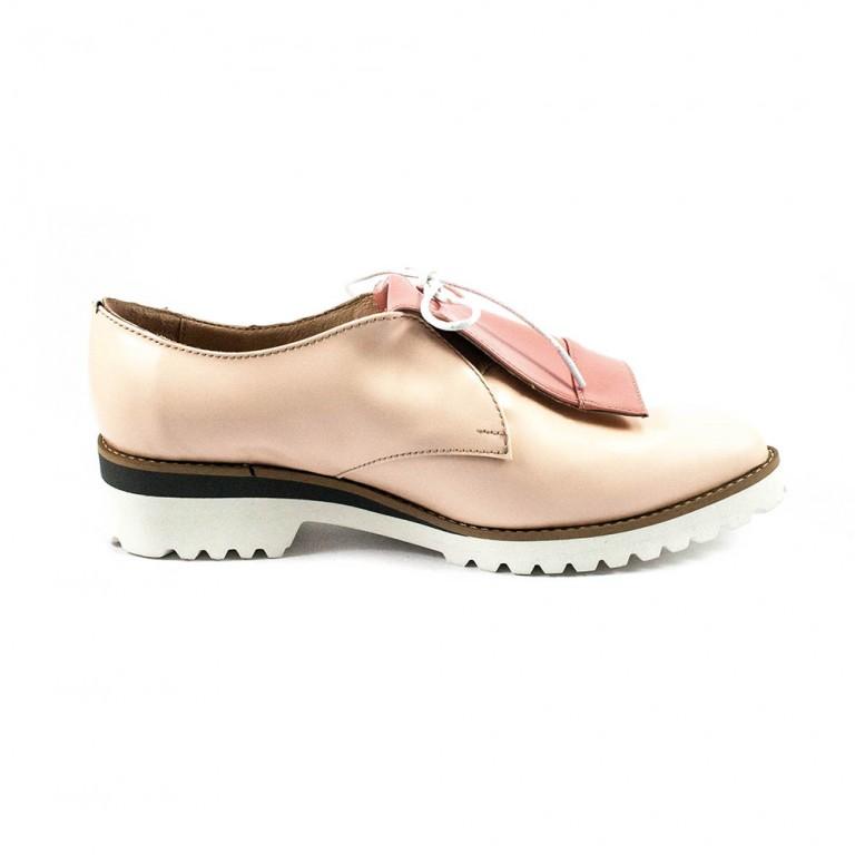 Туфли женские Tutto Shoes T3310 розовая кожа